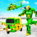 Flying Tuk Tuk Robot Auto Rickshaw Driving Games Icon
