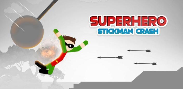Superhero Stickman Crash: Ragdoll Car Dismounting apk