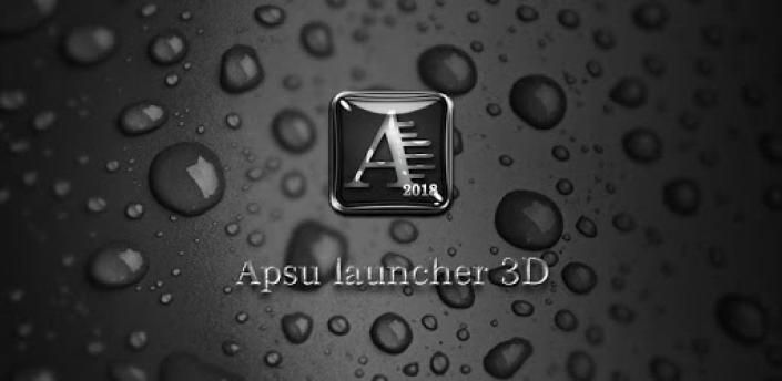 APSU Launcher 3D - themes, wallpapers, efficient apk