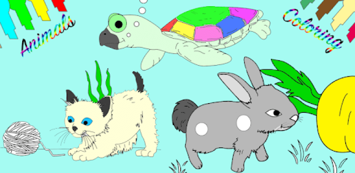 Baby Animals Coloring Game apk