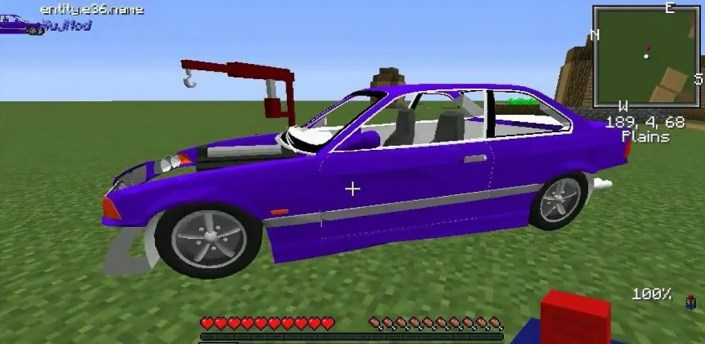 Cars and Engines Mod for MCPE apk