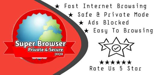 Super Browser - Private & Secure apk