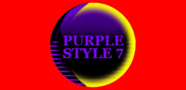 Purple Icon Pack Style 7 ✨Free✨ apk