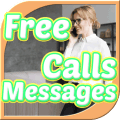 Free Calls Messages & International Calling Guia Icon