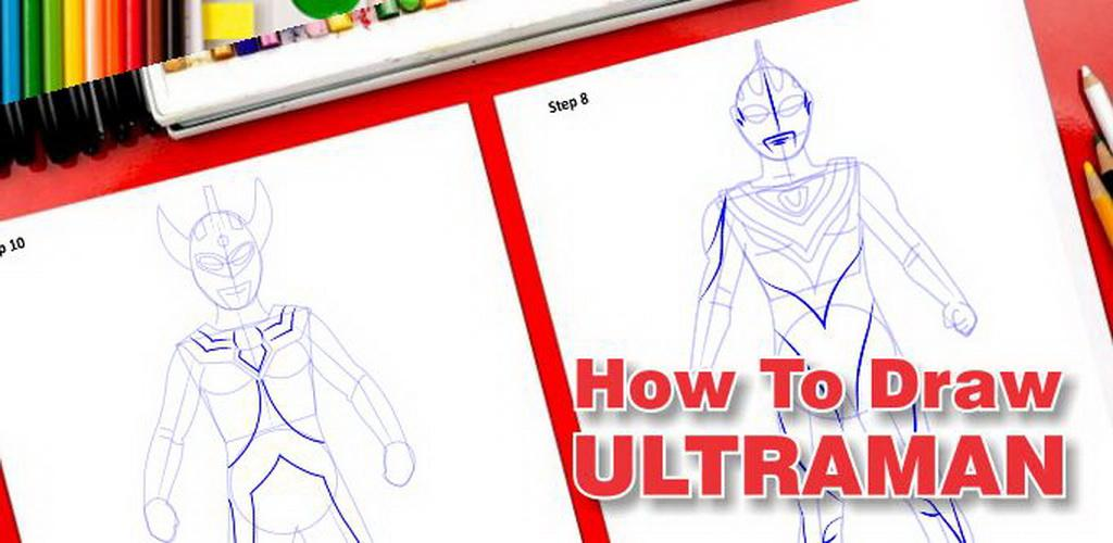 Draw Ultraman apk