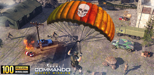 Commando Black Shadow Elite 3d apk