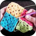 Crochet. Learn crochet patterns step by step Icon