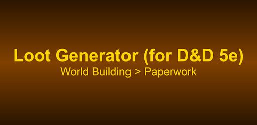 Loot Generator (for D&D 5e) apk