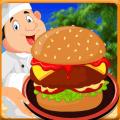 Burger Shop Restaurant : Burger Maker Cooking Game Icon