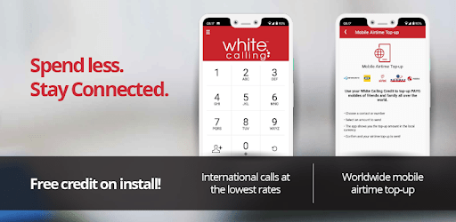 White Calling – international calls / call abroad apk