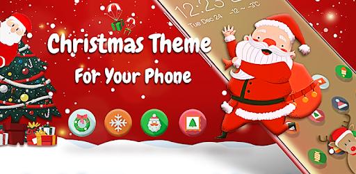 Cute Santa Claus Theme | Xmas Merry Christmas apk