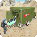 US Army Ambulance 3D Rescue Game Simulator Icon