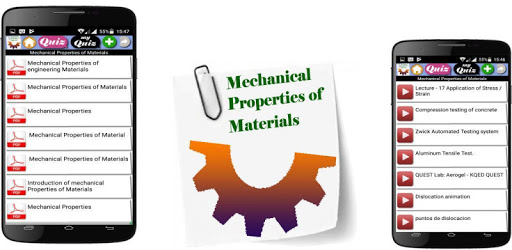 Mechanical Properties of Materials apk