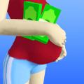 Pregnant Or Rich Icon