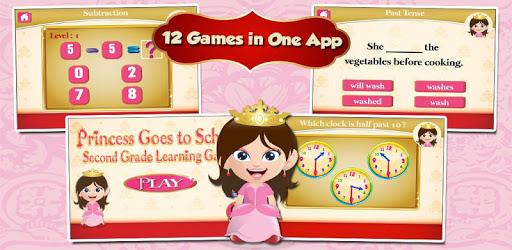 Princess Second Grade Games apk