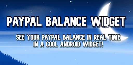 Paypal Balance Widget apk