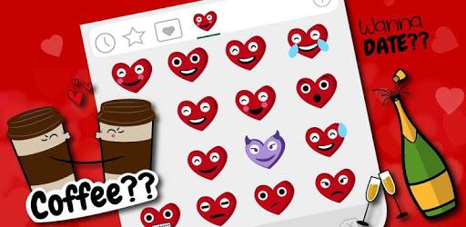 Dating Love Life Emoji Stickers apk