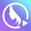 PrettyUp- Video Face & Body Editor & Selfie Camera Icon