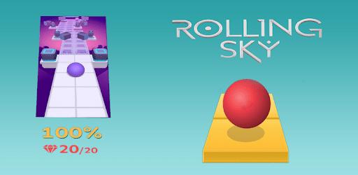 Rolling Sky Ball apk