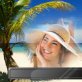 Tropical Beach Photo Frames Icon
