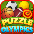 Puzzle Olympics : 3 Match sports puzzle game Icon