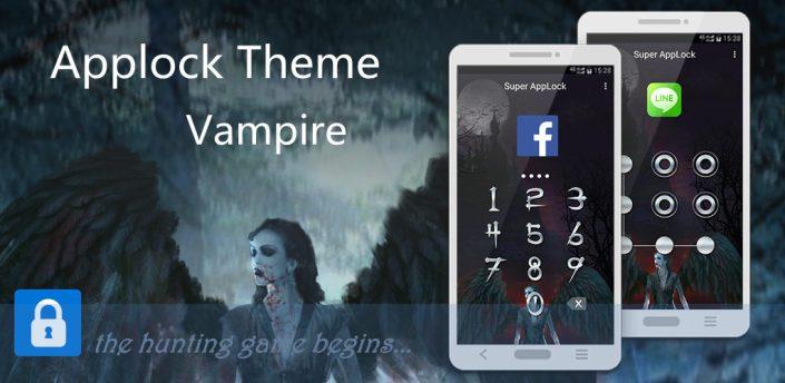 AppLock Theme Vampire FullMoon apk