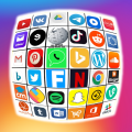 All in one social media in one app Icon
