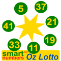 smart numbers for Oz Lotto(Australian) Icon