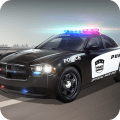 Police Car Chase Icon