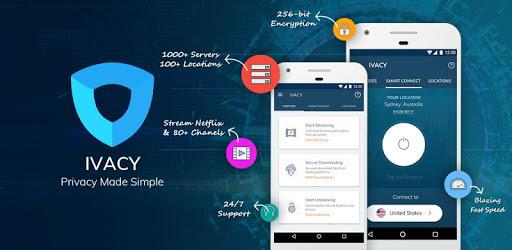 Ivacy VPN - Best VPN Fast, Unlimited & Secure apk