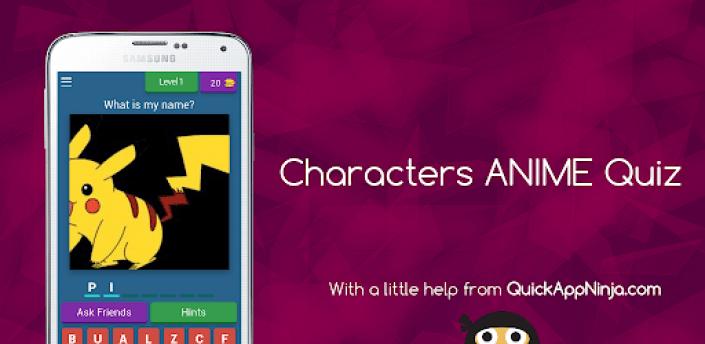 Characters ANIME Quiz apk