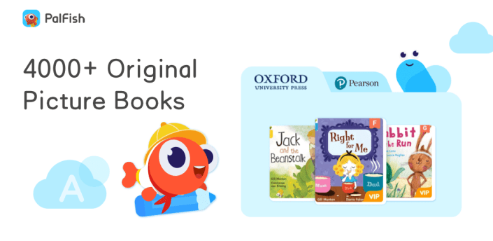 PalFish - Picture Books, Kids Learn English Easily apk