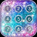 Glitter Keypad Lock Screen Icon