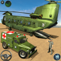 US Army Ambulance Driving Game Icon