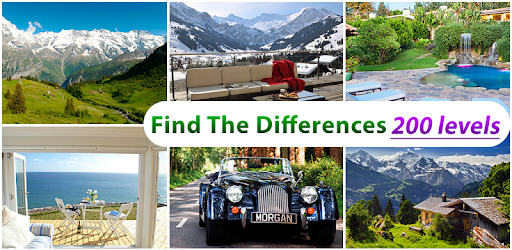 Spot the difference 200 levels apk