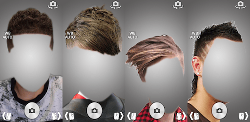 Boy Hairstyle Camera Montage Photo Editor apk