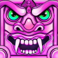 Scary Temple Final Run Lost Princess Running Game Icon