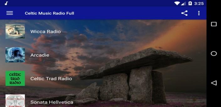 Celtic Music Radio Full apk