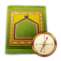 Prayer Times: Qibla & Azan Icon
