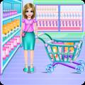 Crazy Mommy Supermarket Day Icon