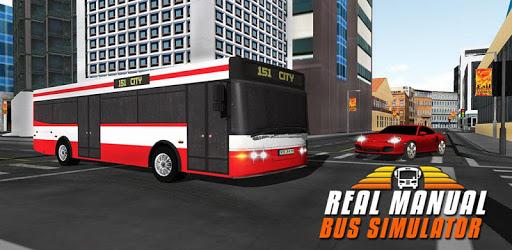 Real Manual Bus Simulator 3D apk