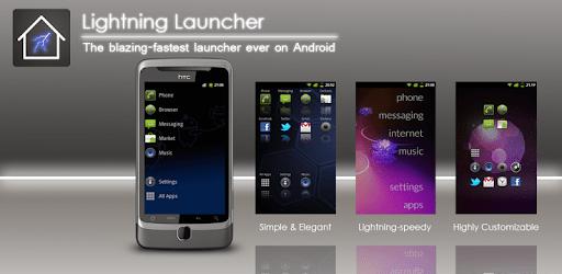 Lightning Launcher - Czech apk