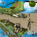 US Army Helicopter Rescue: Ambulance Driving Games Icon