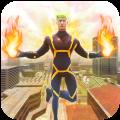 Flying Speed Flame Hero- Flame Hero Robot Game Icon