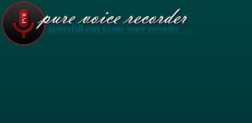 Pure Voice Recorder apk