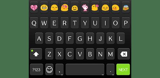 Classic Black Emoji Keyboard apk