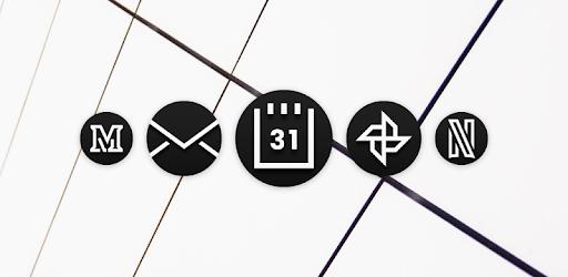MNML DARK - Adaptive Icon Pack apk