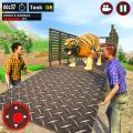 Offroad Truck Simulator - Animal Transport Games Icon