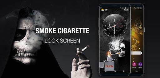 cigarette & smoke Lock Screen apk