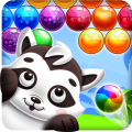 Raccoon Bubbles Icon